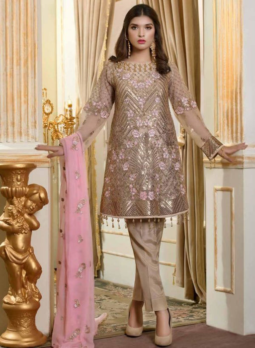 Wishcart-Pakistanisuits-Shamrock Premium Wedding Chiffon 2019 Collection 708