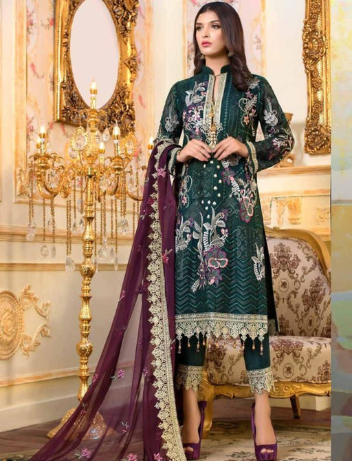 Wishcart-Pakistanisuits-Shamrock Premium Wedding Chiffon 2019 Collection 701