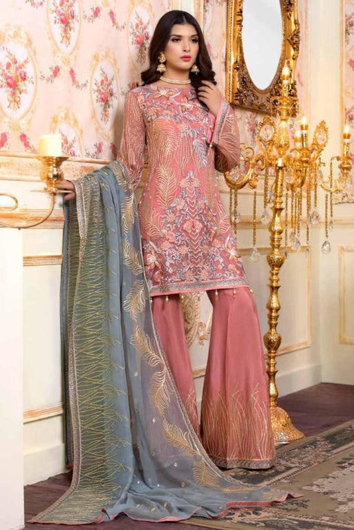 Wishcart-Pakistanisuits-Shamrock Premium Wedding Chiffon 2019 Collection 702