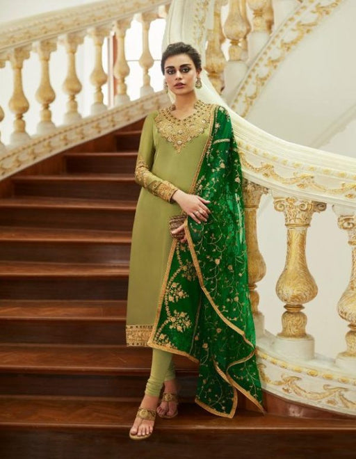wishcart-Aashirwad Mor Bagh Satin Georgette Collection 7013
