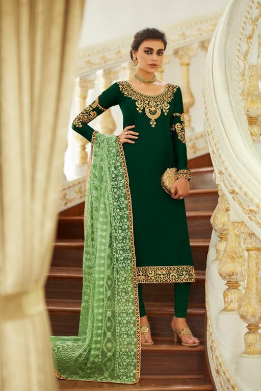 wishcart-Aashirwad Mor Bagh Satin Georgette Collection 7015