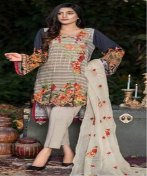 Zebaish Digital Printed Linen Collection 8