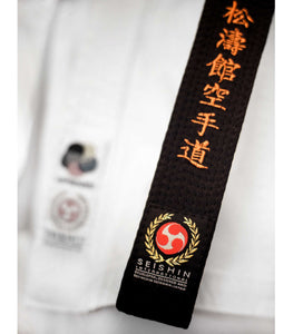 The Seishin Black Belt - Seishin International  - 7