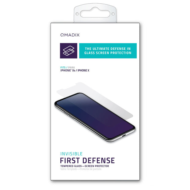 Tempered Glass Screen Protector for iPhone Xs and iPhone X