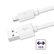10' Charging-Data Sync Cable for Lightning® Devices