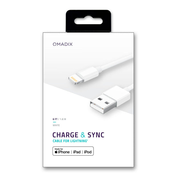 6' Charging-Data Sync Cable for Lightning® Devices