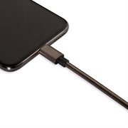 Metal Charging Cable for Lightning Devices; iPhone, iPad