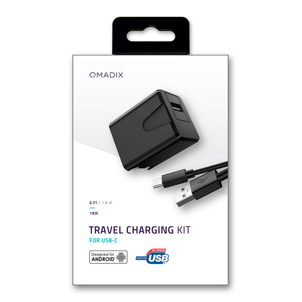 Travel Charging Kit for USB-C Devices