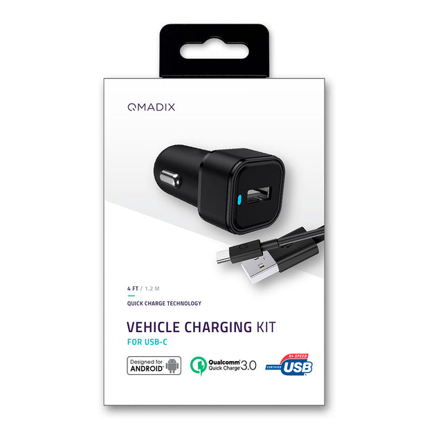 Vehicle Charging Kit with Qualcomm® Quick Charge™ 3.0