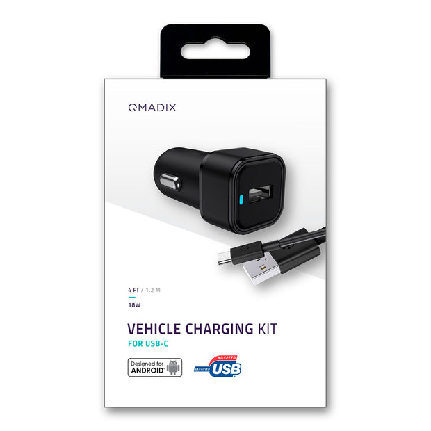 Vehicle Charging Kit for USB-C Devices