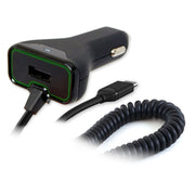 Vehicle Power Charger featuring Qualcomm® Quick Charge™ 3.0 with Auxiliary USB Port for USB-C Devices