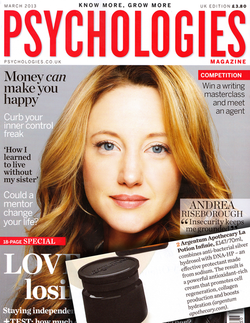 Magazine cover for Psychologies
