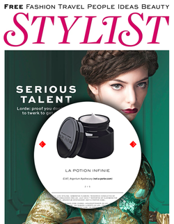 Magazine cover for Stylist