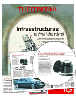 Magazine cover for Tu economia