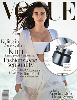 Magazine cover for Vogue Australia