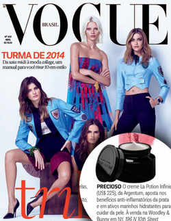 Magazine cover for Vogue Brasil