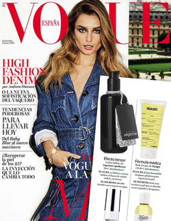 Magazine cover for Vogue Spain