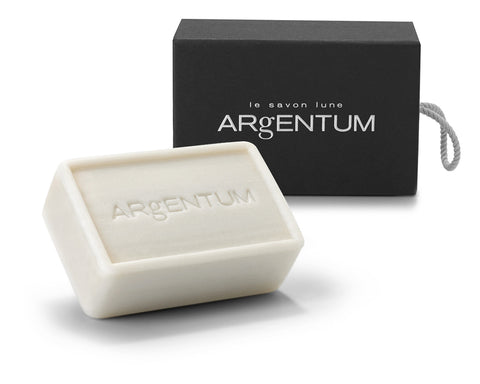 argentum apothecary cleansing bar le savon lune packaging box side by side