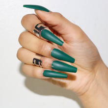 Load image into Gallery viewer, Green Press On Nails