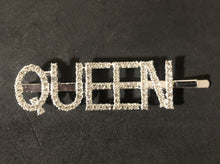 Load image into Gallery viewer, Rhinestones Word Hair Clips