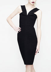 black la petite s dress with V-Strap  la petite s*****