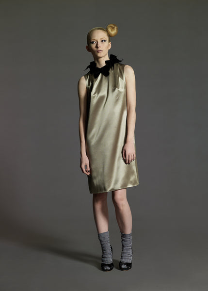 La Petite S***** Satin shift dress AW08