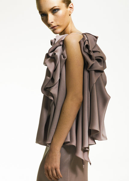 La Petite S***** ruffle dress in lilac SS08