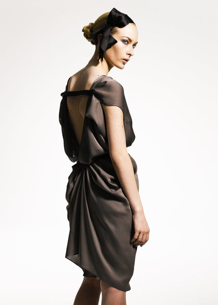 La Petite S***** satin chiffon dress SS08