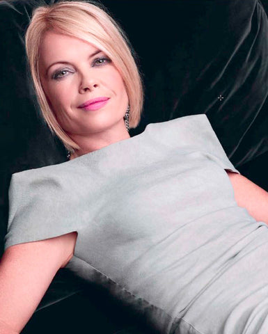 Mariella Frostrup wears dress by La Petite S*****