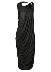 black chocolate la petite s draped jersey dress la petite s*****