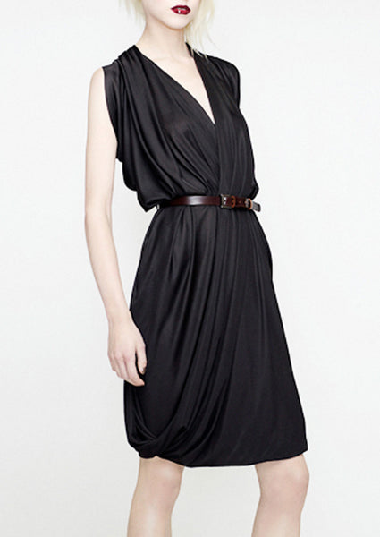 la petite s jersey dress with belt