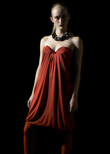 La Petite S***** SS07 red jersey dress