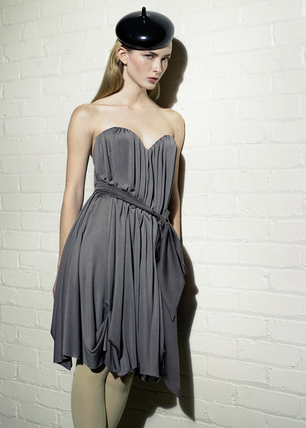 La Petite S***** Jersey dress in grey SS07