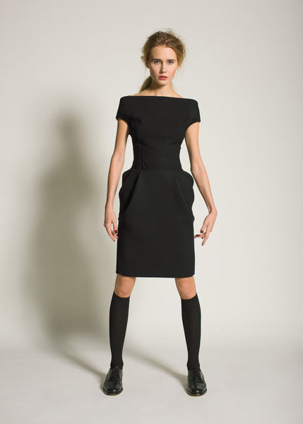 La Petite S***** AW09 black tailored dress
