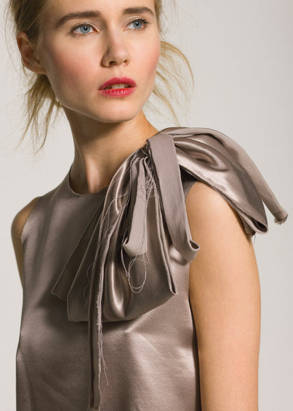 La Petite S***** AW09 satin dress with bow