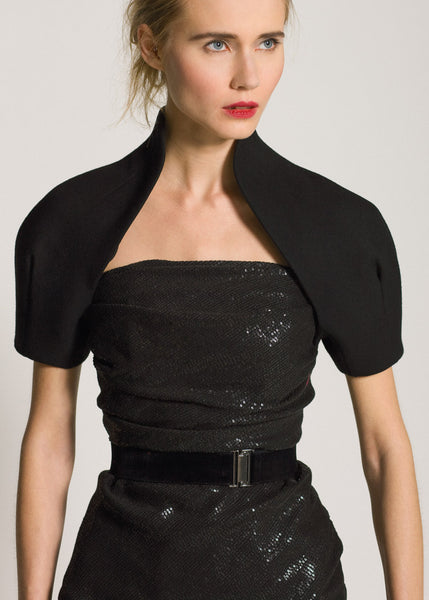 La Petite S***** AW09 black bolero and sequin dress