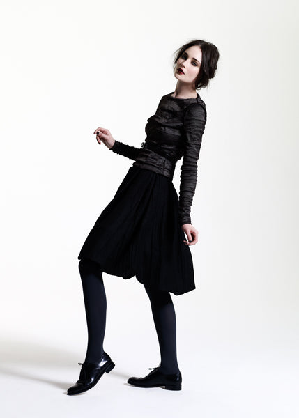 La Petite S***** AW11 black wool skirt