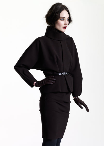 La Petite S***** AW11 belted black chocolate jacket