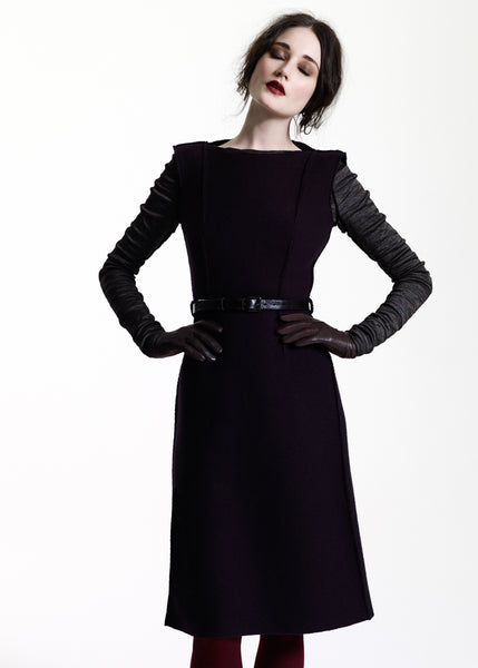 La Petite S***** AW11 black wool dress