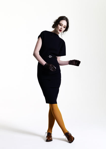 La Petite S***** AW11 asymmetric wool dress