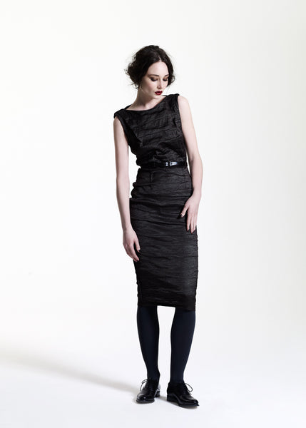 La Petite S***** AW11 crinkle stretch silk dress