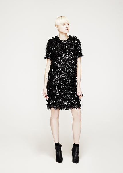 La Petite S***** AW12 tassle shift dress with sleeves
