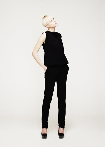 La Petite S***** AW12 black tabard and trousers