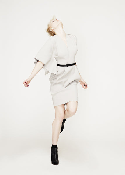 La Petite S***** AW12 dove grey dress