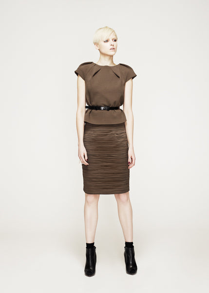 La Petite S***** AW12 pleated tunic and skirt