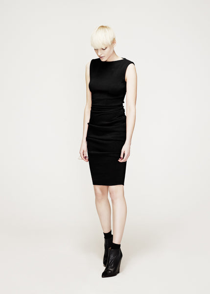 La Petite S***** AW12 black vest dress
