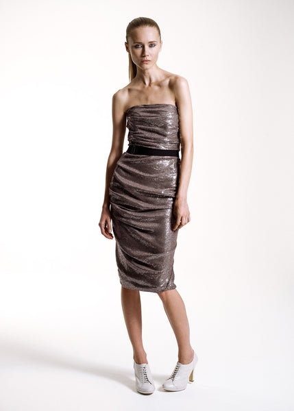 La Petite S***** SS10 mink sequin dress