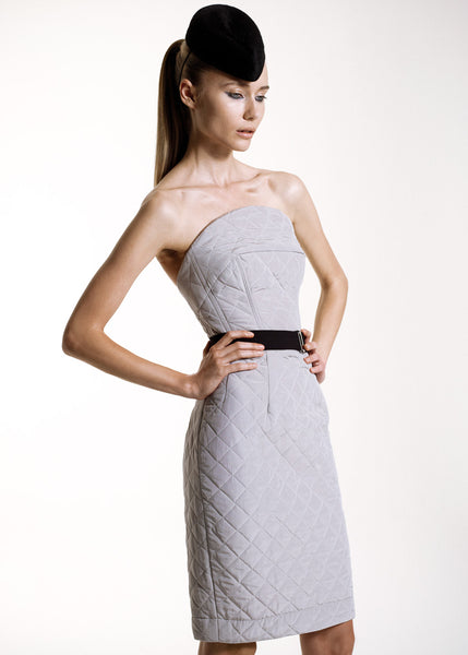 La Petite S***** SS10 quilted tailored dress with belt