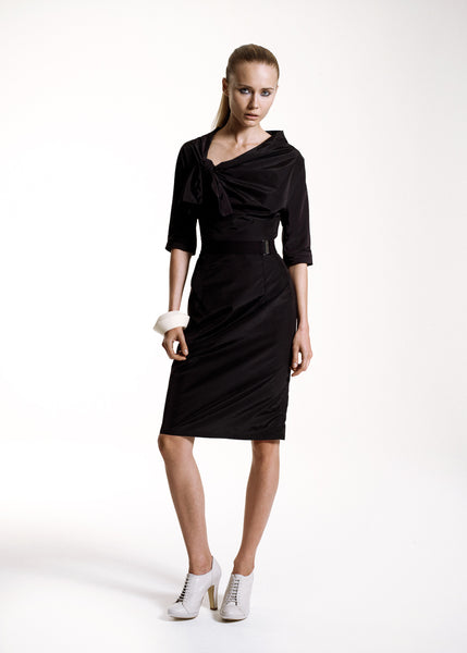 La Petite S***** SS10 black taffeta dress