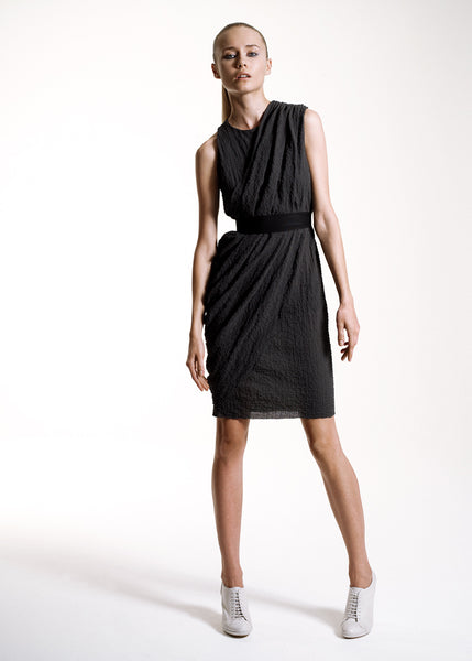 La Petite S***** SS10 cotton anthracite dress